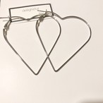 no.97 〈全2色〉heart hoop pierce