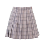 Girlish Check Skirt (Light Pink)