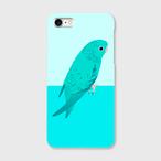 iPhoneケース サザナミインコ ブルー 【各機種対応】