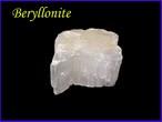 ベリロナイト原石D