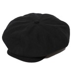 BIG CASQUETTE - LINEN (BLACK) / RUDE GALLERY