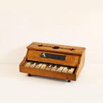 【V-115】木製 ミニ ピアノのおもちゃ