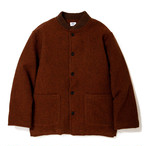 "Just Right ""EB Wool Jacket"" Brown"