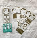 こけしのポストカード5種セット