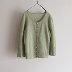 cashmere green knit