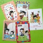 POST CARD set /  ごあいさつ