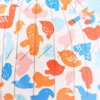 新商品《鳥》ウォールステッカー 鳥 貼り直しできる AIUEO M