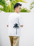 【5/5(WED)20:00 販売開始】ThreeArrows Palmtree BIG S/S TEE (white)