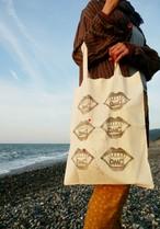 OMG!大きめトートバッグ/ Reusable cotton bag 'OMG!'