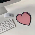[MAZZZZY] heart mouse pad