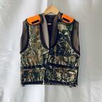 Vintage Vest _03(ユーズド 刺繍 ベスト 迷彩)