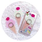 アイスクリームスマホリング