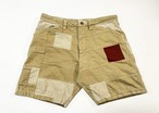 19SS カラフルネップパッチワークショートパンツ / Colorful nep patch work short pants