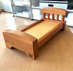 カツラのベッド 北海道産カツラ材 ビンテージ保管品