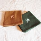 SALE ! mina perhonen ミナ ペルホネン / angel ちょうむすび リネン刺繍 風呂敷 50cm