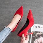 【shoes】通勤OLチャーミングスエードパンプス 22582664