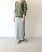 Iライン スウェットスカート / FUHAM
