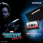 InfoThink OTG USBメモリ MARVEL ガーディアンズ・オブ・ギャラクシー:リミックス OTG MicroUSB USB フラッシュドライブ 16GB カセットテープ IT-USB3-102(Tapes)16GB
