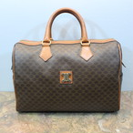 .OLD CELINE MACADAM PATTERNED LOGO BOSTON BAG MADE IN ITALY/オールドセリーヌマカダム柄ロゴボストンバッグ 2000000028781