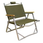 Fabric for COLEMAN Folding Chair Cover Kit (Khaki Green) & Handle Cover SET