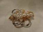 真珠ブローチ(ビンテージ ) vintage pearl brooch(made in Japan)