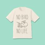 小鳥のいない人生なんて!Tシャツ オフホワイト【チャリティー対象商品】
