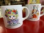 アカオハーブ&ローズガーデン♡水森亜土のおもちゃ箱画廊「小ちゃいマグカップ」