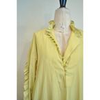 【RehersalL】 frill bijou onepiece(yellow) /【リハーズオール】フリルビジューワンピース(イエロー)