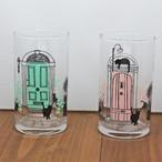 【 Abeille】グラスシリーズ ネコパリ【猫柄 AIZ-353】