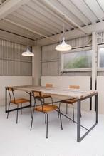 LESS古材ワークテーブルテーブルW1800~2200×800×H700【自由オーダー・送料込み!】