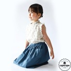 «即納»«pourenfant» laura blouse 2colors ローラブラウス