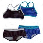 GUARD(ガード)×TYR(ティア) レディース水着 ワークアウト ボックスパンツ セパレート タンキニ フィットネス gud-wstp16 競泳