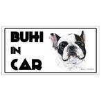 Bull. 「BIHI IN CAR」 マグネット パイド