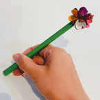 【オンラインショップ限定価格】No.218お花ボールペン(花色マルチカラー)