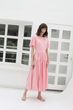 SMOOTH T-DRESS PINK