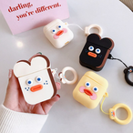 【オーダー商品】Cute cartoon duck airpods case