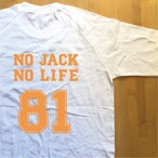NOJACK NOLIFE オリジナルラグランTシャツ 2色
