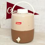 コールマン ビンテージ スノーライト ジャグ チョコパフェ 2gal 85年/Coleman vintage snowlite jug brown & butternuts 2gal 85y [AA03]