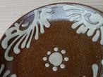 5寸皿 いっちん唐草 透明(白)7枚セット【青陶舎】
