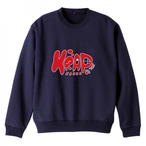 KRAP CREW NECK SWEAT - NAVY
