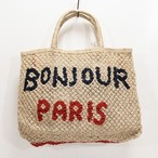 The Jacksons(ジャクソンズ)ジュートバッグ『BONJOUR PARIS』