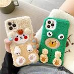 Cute plush iphone case