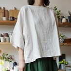 リネンボックスシャツ(レギュラー丈) YAMMA ヤンマ産業