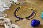 [DESTINY : ブレスレット] ラピスラズリ (Lapis Lazuli)