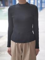 【DIARIES】Cotton Knit Rib High Neck Sweater