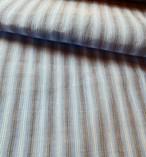 小千谷縮 ブルー&グレー縞