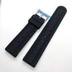 ヴィンテージ タイヤトレッド XGL731 復刻ラバーベルト ブラック  20mm 腕時計ベルト
