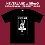 T-SHIRT【予約販売商品】4/26(日)まで!NEVERLAND x GReeD 2016 ORIGINAL DESIGN T-SHIRT
