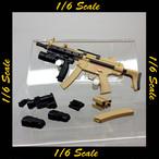 【01957】 1/6 ZYTOYS MP5A5 RAS サブマシンガン タン