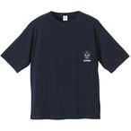 SIX LOUNGE [メキシカンスカル]Tシャツ(ネイビー)